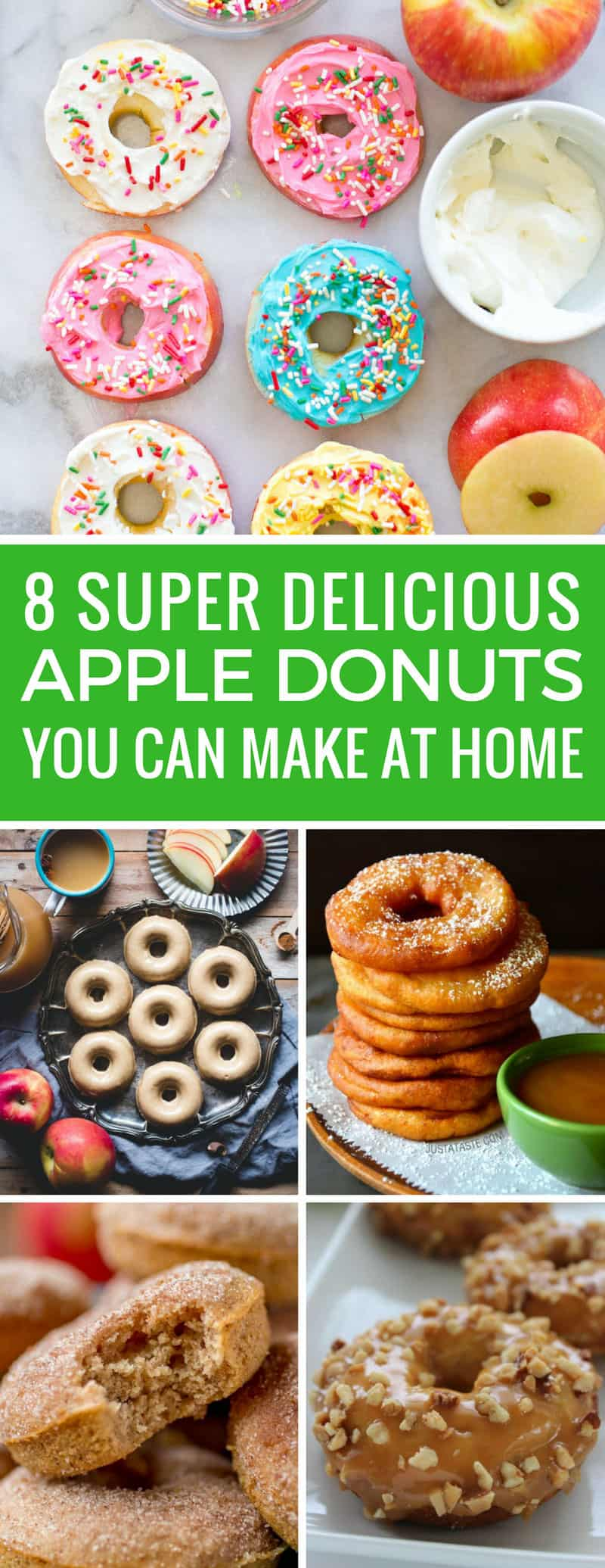 Yum! These easy apple donut recipes are just what we need for the Fall! Thanks for sharing!