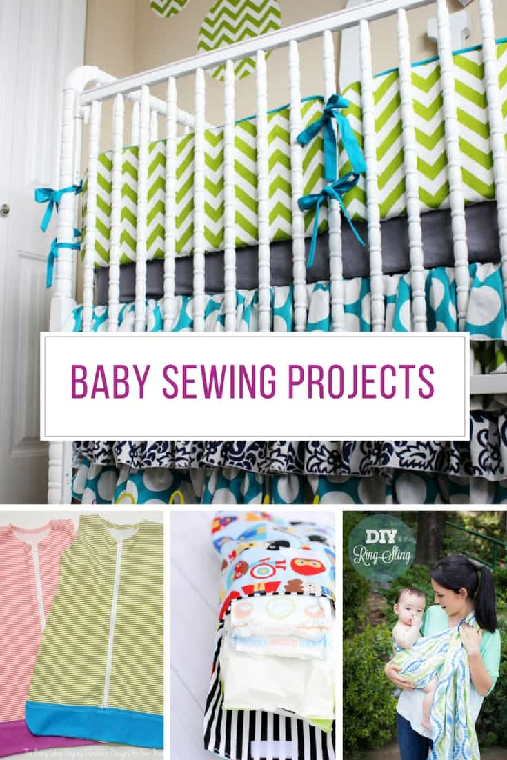 These easy baby sewing projects are ADORABLE! Thanks for sharing!