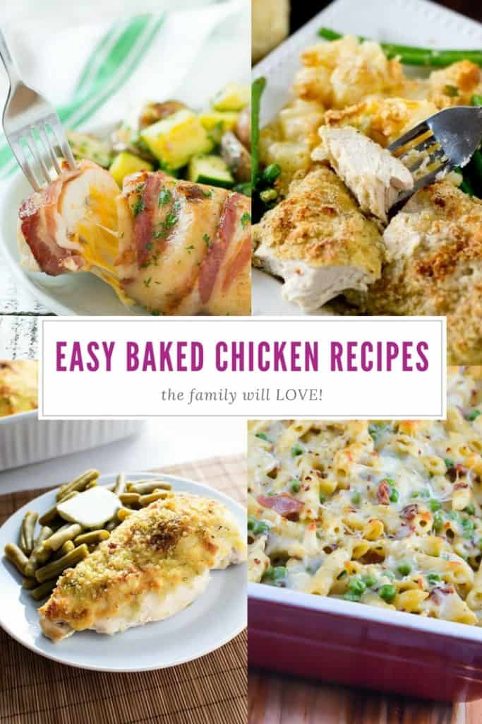 Easy Baked Chicken Recipes | Dinner | Family | Quick and Easy