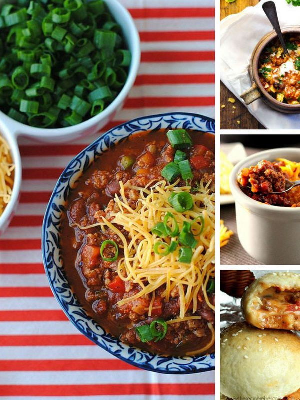 Totally drooling over these easy chili recipes that will be perfect for tailgating this Fall!