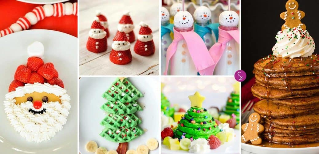 ADORABLE Christmas Breakfast Treats Your Kids Will LOVE!