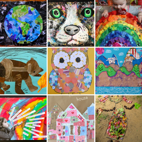 Easy Collage Art Ideas for Kids