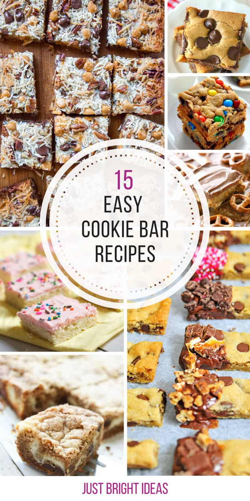 These easy cookie bar recipes are amazing! Thanks for sharing!