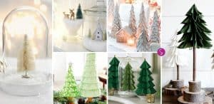 FABULOUS DIY Christmas Tree Crafts to Decorate Your Home!
