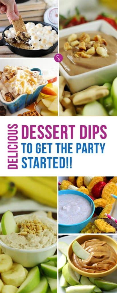 YES! These EASY dessert dip recipes are just what I need for my party!!