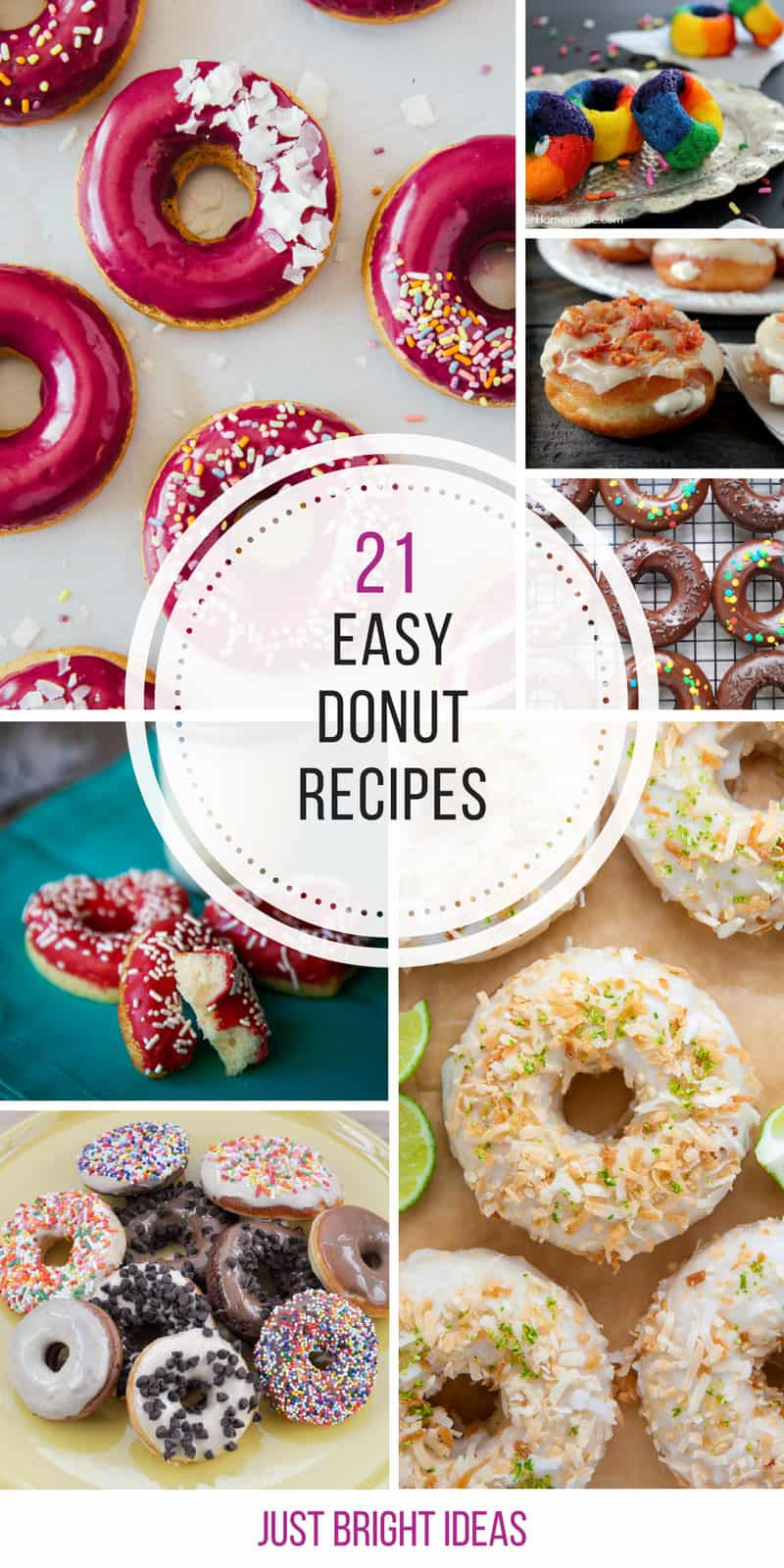 Who knew homemade donuts were so easy to make! Thanks for sharing!