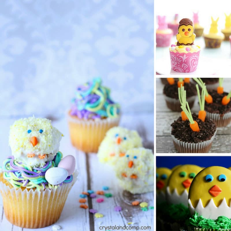 8 Easy Ways to Make Easter Cupcakes Your Kids Will Love