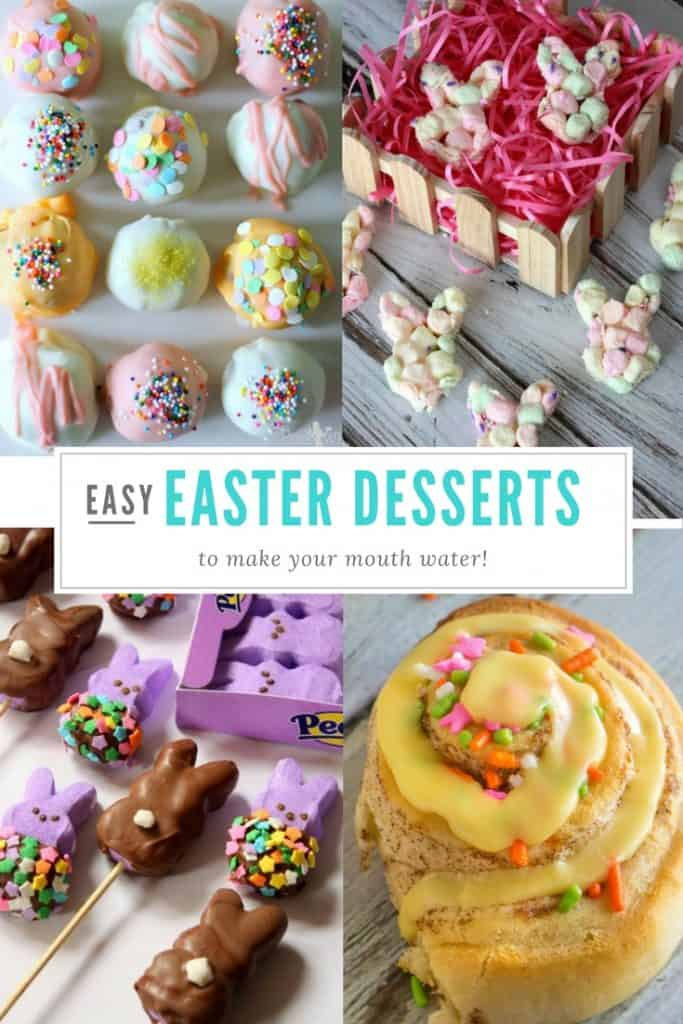 Easy Easter Desserts | Cakes | Cupcakes | Peeps | Rabbits | Eggs