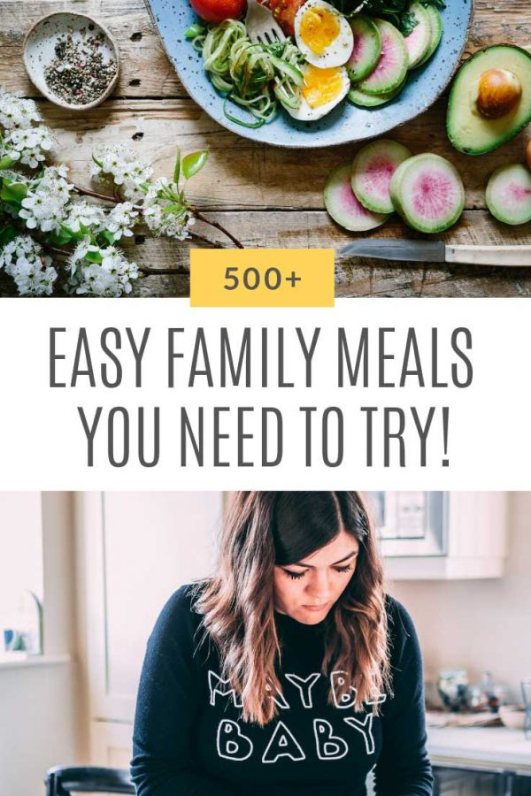 Adding these easy family meals to our meal plan for sure!