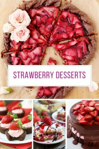 OMG. Loving these fresh strawberry desserts! Thanks for sharing!