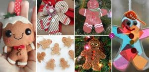 ADORABLE Gingerbread Man Ornaments for Kids to Make!