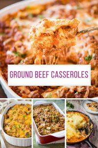 Oh yum - so many great ground beef casserole recipes! Thanks for sharing!