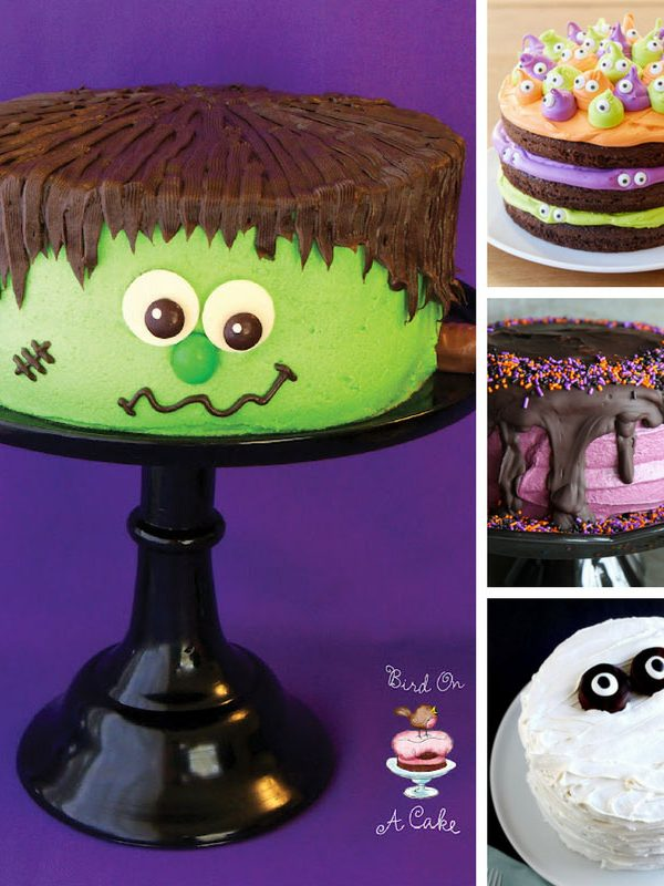 Loving these ghoulish Halloween cakes - and our party guests will too i'm sure! Thanks for sharing!