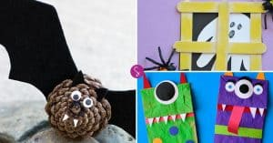 Easy Halloween Crafts for Kids to Make