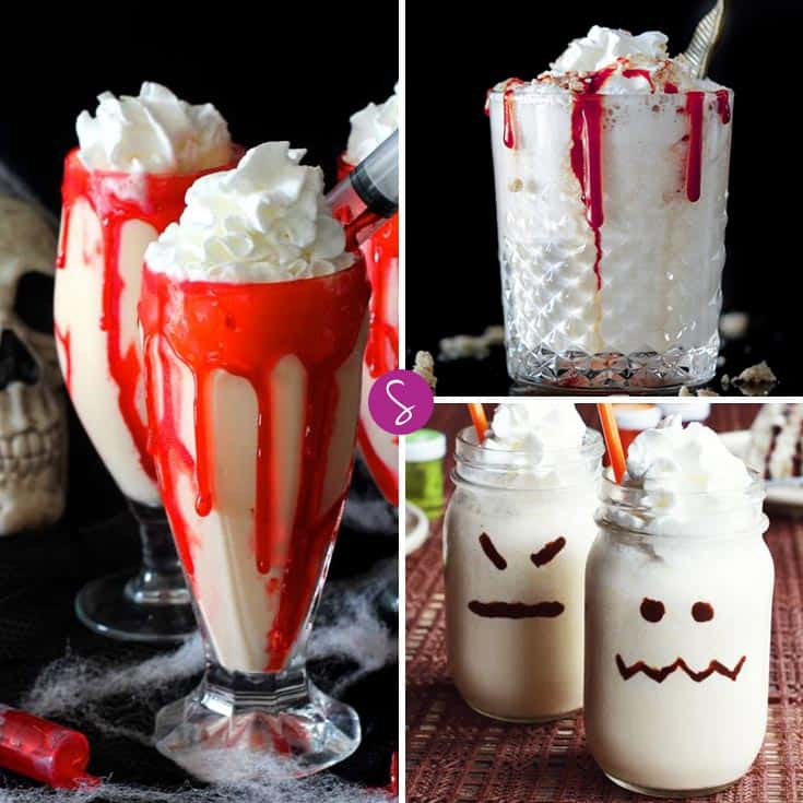 These Easy Halloween Milkshake Recipes for Kids are Perfect for Parties!