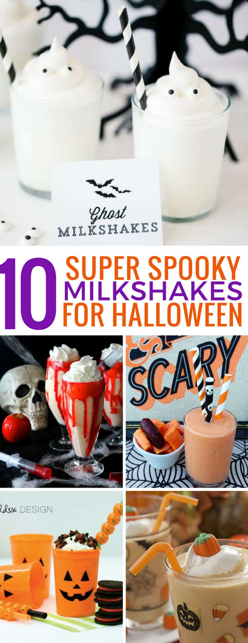 Loving these easy Halloween milkshakes for kids - they'll go down a storm at our party! Thanks for sharing!