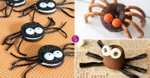 Easy Halloween Spider Recipes