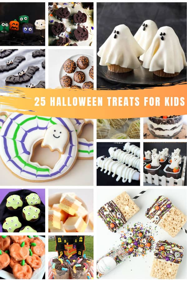 So many easy Halloween treats for school and trick or treaters! #halloween #recipes