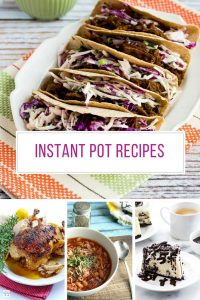 Oh my - these instant pot recipes are so easy and I could eat that cheesecake all day! Thanks for sharing!