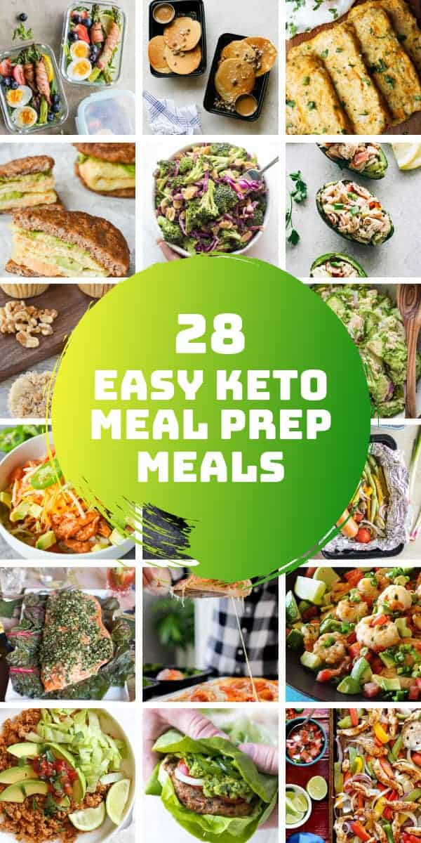 Looking for easy keto meal prep for beginners? We've got healthy recipes for breakfast, lunch and dinner which are easy to make and have the macros you need for ketosis. #mealprep #keto