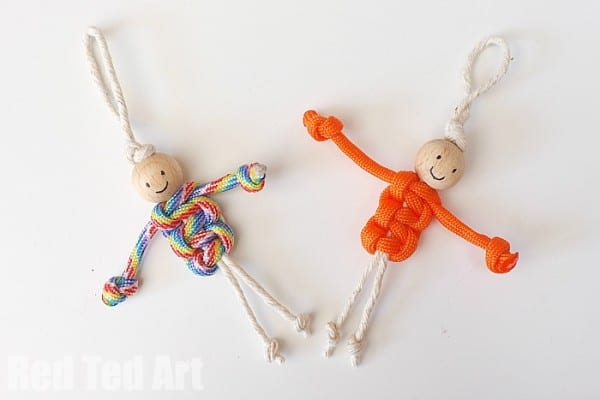 Easy Macrame Dolls