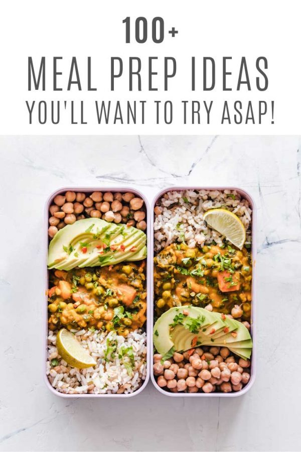 These easy meal prep ideas are healthy and taste great!