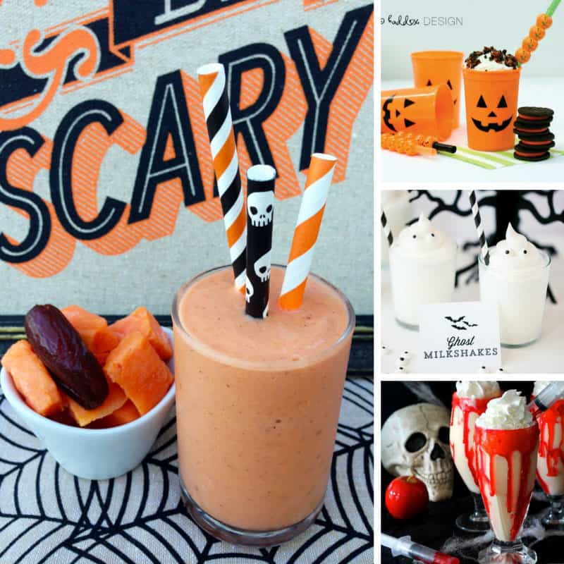 These milkshakes are perfect for our Halloween party! Thanks for sharing!