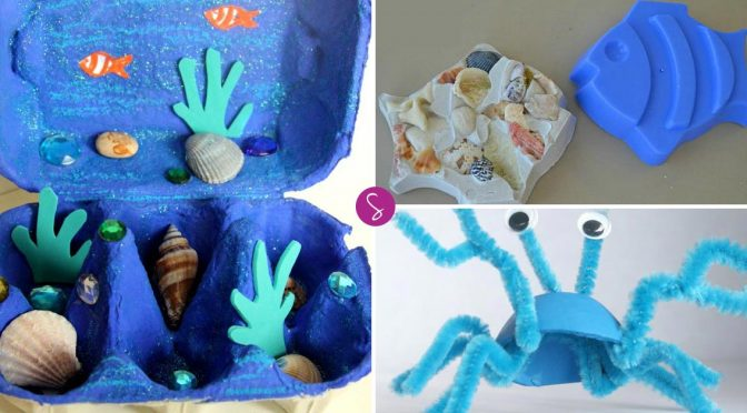 Easy Ocean Crafts for Kids to Learn All About Sea Creatures!