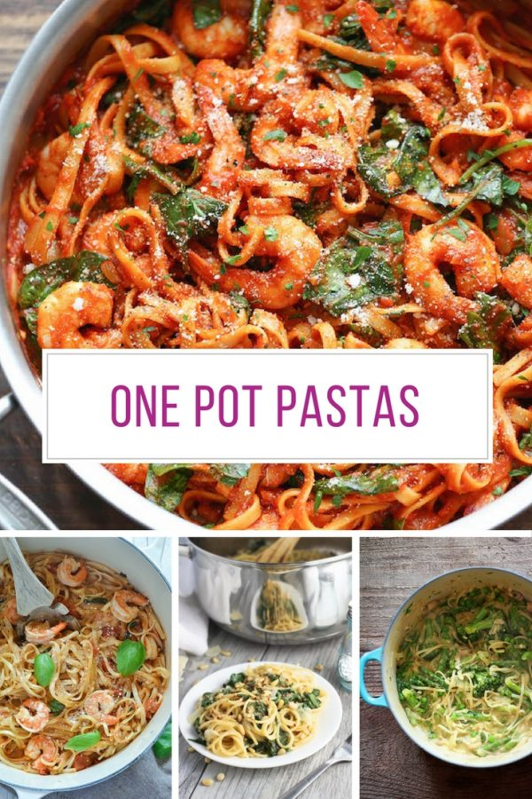 So many fabulous one pot pasta recipes here! Thanks for sharing!