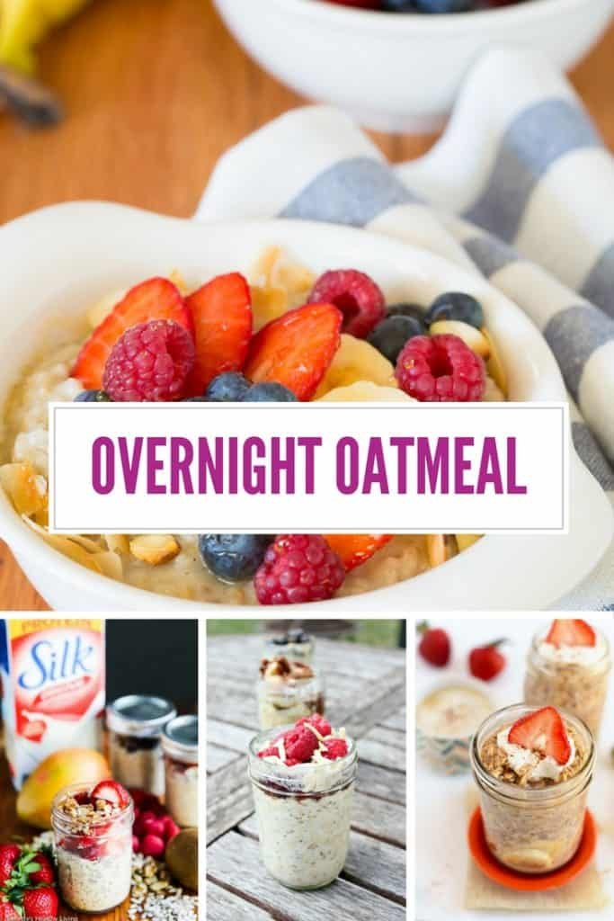 You HAVE to see these - overnight oatmeal recipes that will totally make your day!