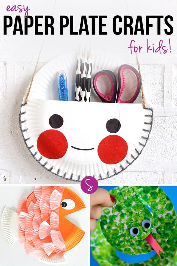 paper plate craft ideas for kids easy paper plate crafts for of all ages to enjoy 7864
