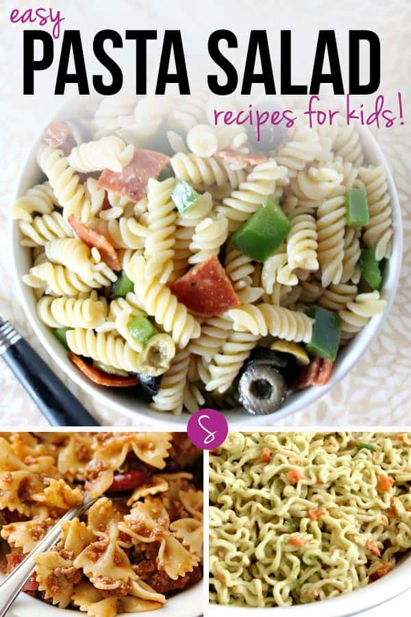 Easy Pasta Salad Recipes for Kids: Perfect for lunch boxes, pot lucks and picnics!
