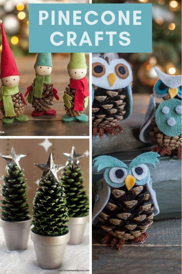 Easy Pinecone Crafts