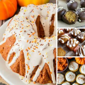 Yum - these pumpkin desserts are easy and delicious!