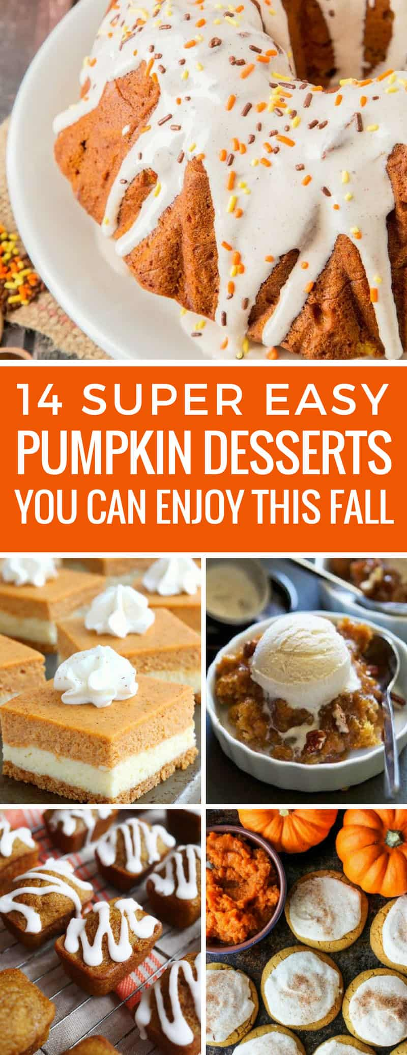 Yum! We love these easy pumpkin desserts - especially the cheesecake bars! Thanks for sharing!