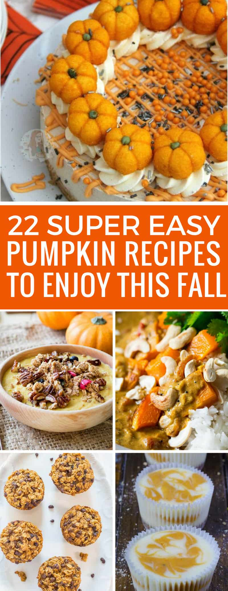 We can never have enough easy pumpkin recipes in our meal plan -so I'll be adding most of these! Thanks for sharing!