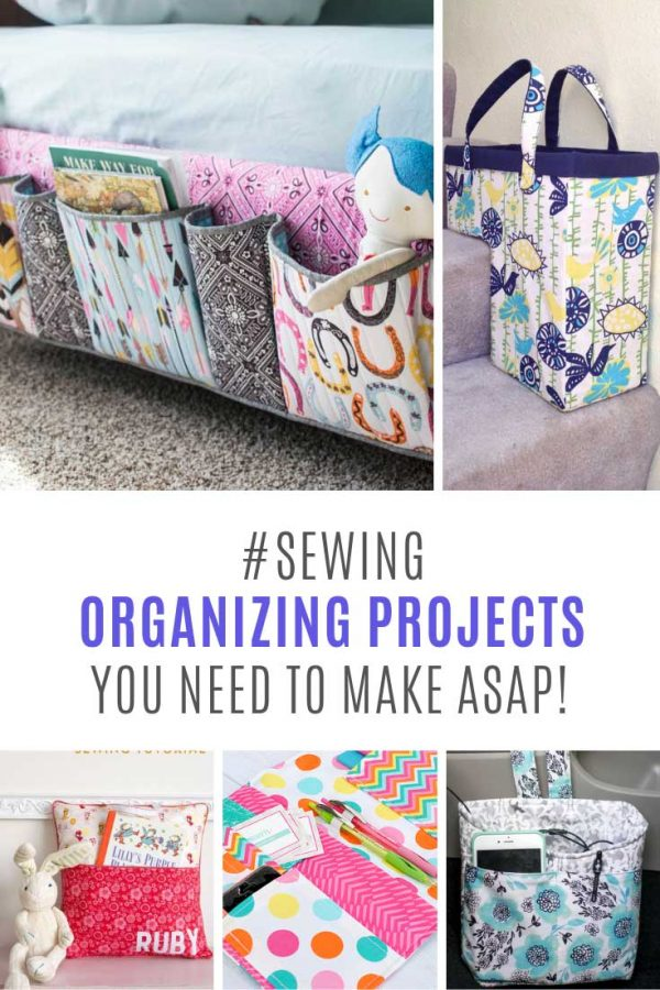 These easy sewing projects for the home are just what I need!