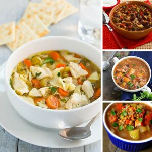 Oh these easy slow cooker soups are just what we need for our Fall meal plans! Thanks for sharing!