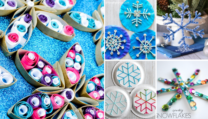 Easy Snowflake Craft Projects for Kids