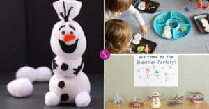 Easy Snowman Crafts for Kids to Make and Other Snowman Activities