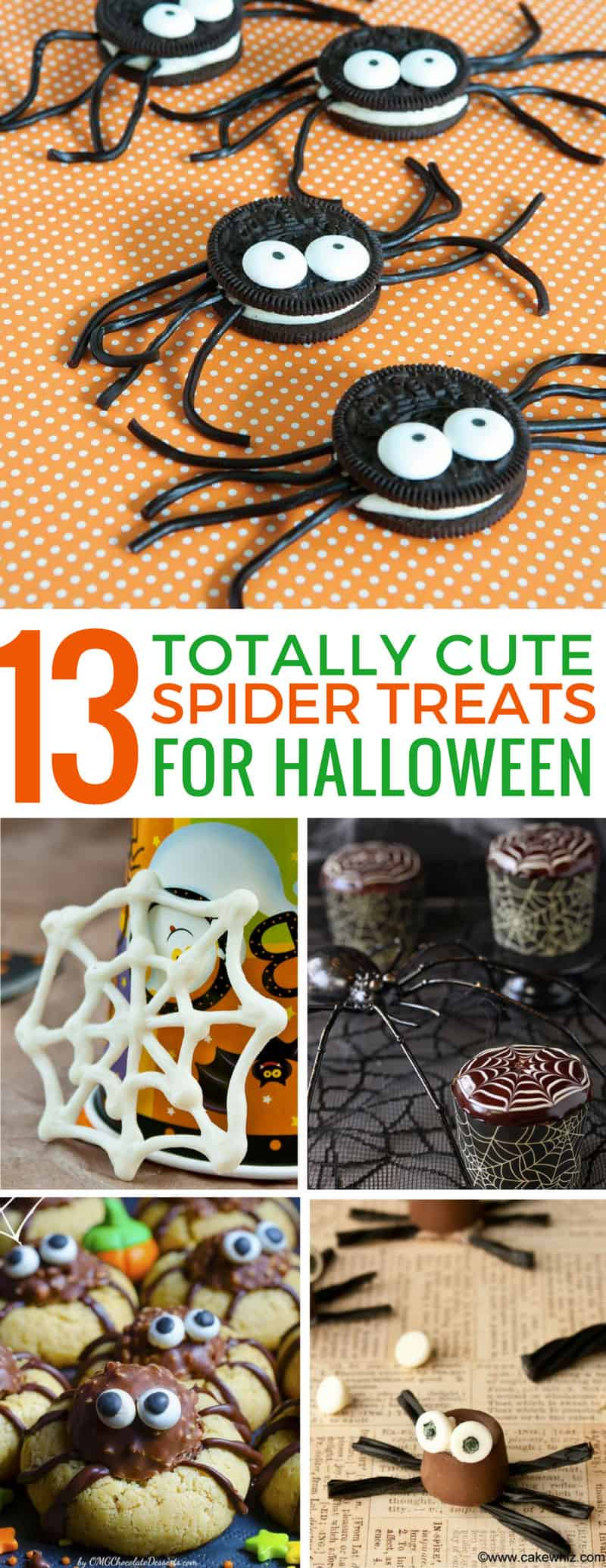 How adorable are these Halloween spider treats! Can't wait to make them with my kids! Thanks for sharing!