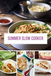 Loving these easy Summer slow cooker recipes! Thanks for sharing!