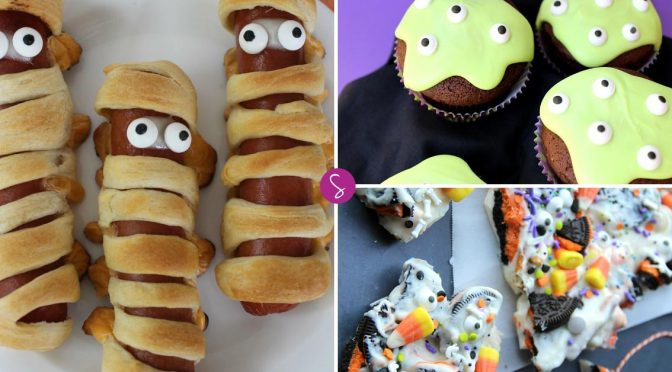 Easy Halloween Treats for Kids (Sweet and Savory Recipes)