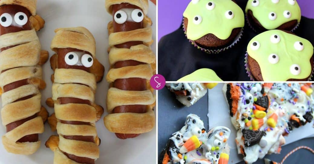 Easy halloween crafts for kids to make this october for Halloween treats to make with kids