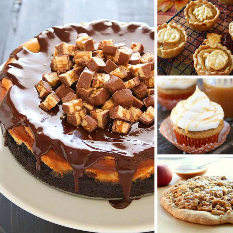 Oh my! So many easy Thanksgiving desserts I might have to make more than one!