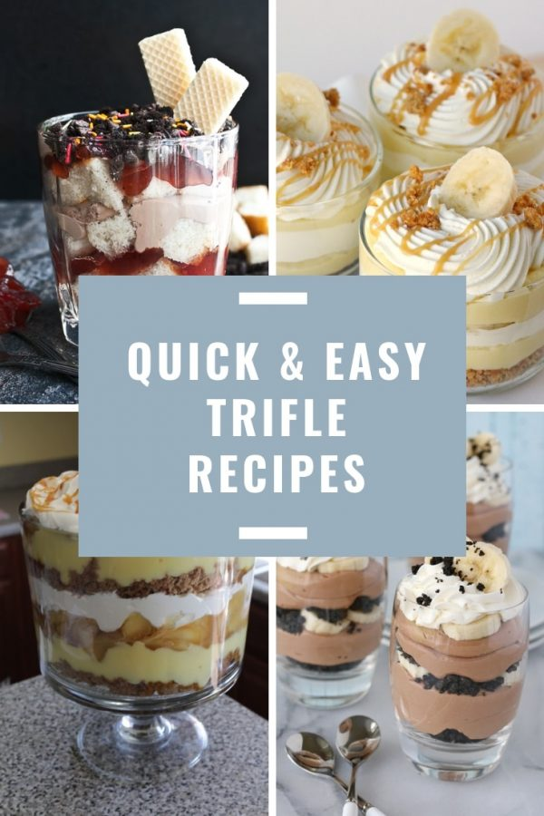 These easy trifle recipes are just what you need to feed a crowd at Christmas, Easter or your weekly potluck!