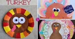 Easy Thanksgiving Crafts for Kids - It's All About the Turkey!