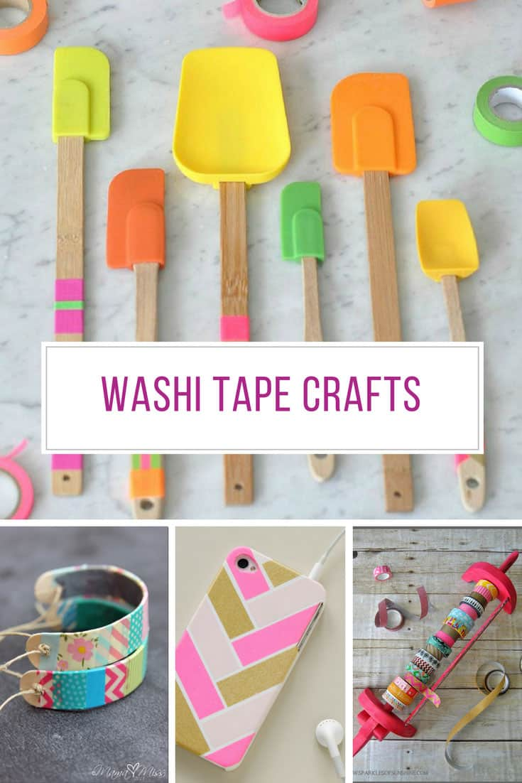 30 Amazing Washi Tape Crafts You Need to Try