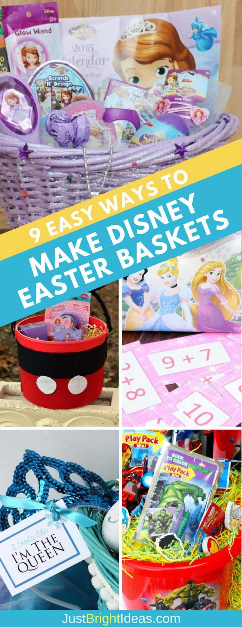 Easy Ways to Make Disney Easter Baskets - Pinterest