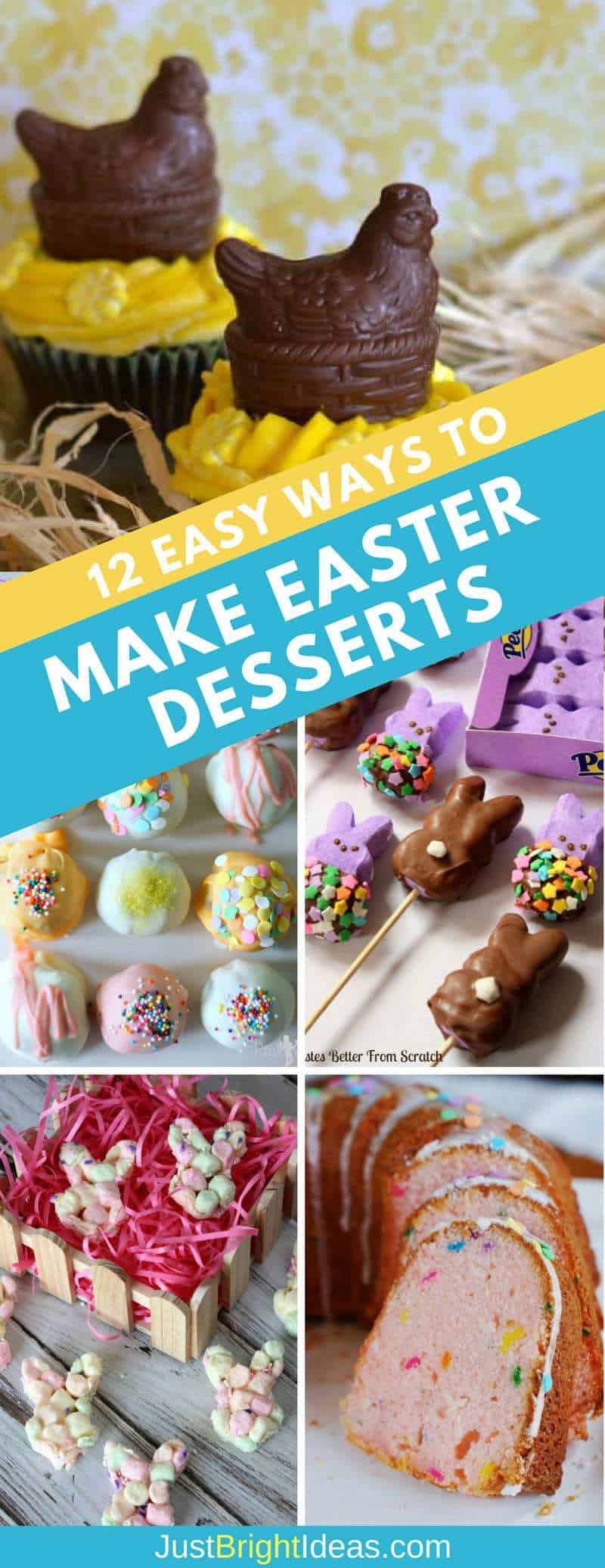 Easy Ways to Make Easter Desserts - Pinterest